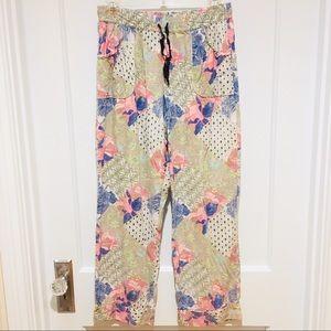 Victoria's Secret Printed Drawstring Pajama Pant